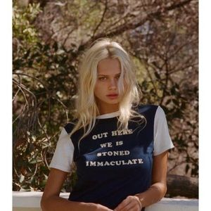 Stoned immaculate T shirt